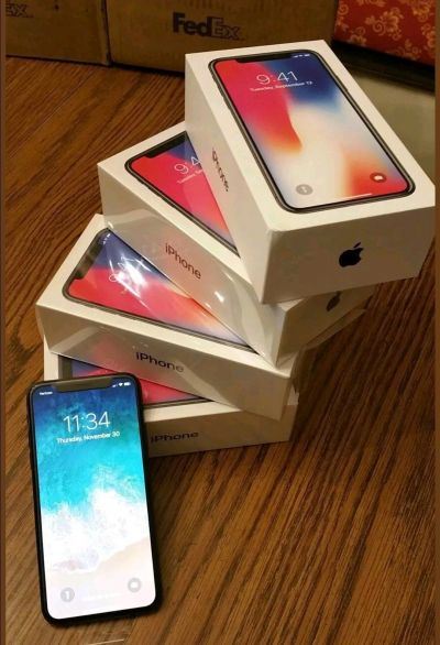 Buy 2 get 1 free Apple iPhone X Brand New